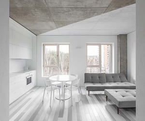apartments, concrete, and decoration image