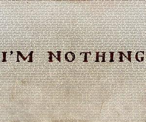 nothing, sad, and sadness image