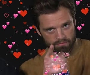 sebastian stan and reaction meme image