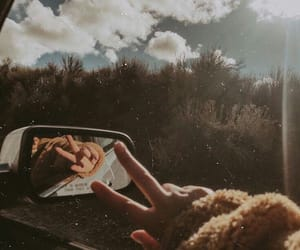 car, sky, and aesthetic image