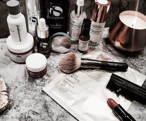 beauty, makeup, and brush image