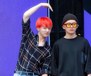 gif, v, and jeon jung kook image