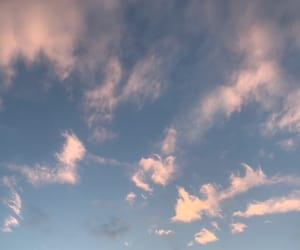 aesthetics, blue, and clouds image