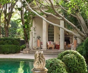 garden, house, and luxe image