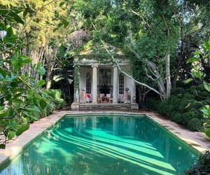 luxury, paradise, and pool image