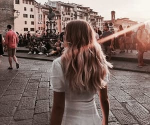 fashion, hair, and travel image