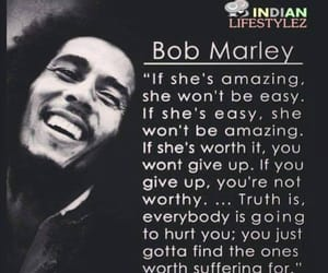 bob marley, h, and quote image