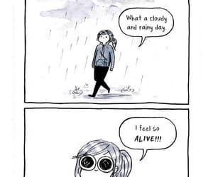 life, mood, and rain image