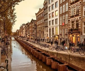 amsterdam, beautiful, and city image
