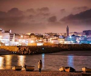 algiers, boats, and bokeh image
