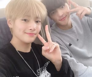 Chan, stray kids, and yang jeongin image