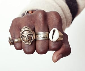 rings, African, and beauty image
