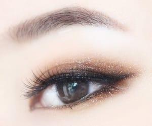 makeup, eyes, and asian image