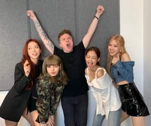 blink, girl group, and rose image