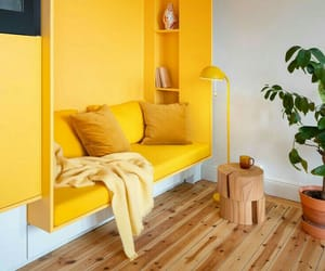 yellow, decor, and home image