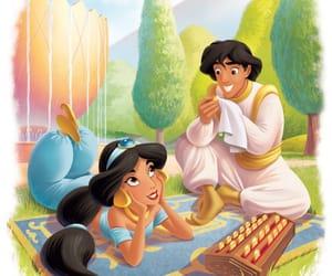 aladdin, cartoon, and disney image