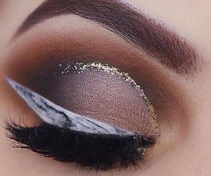 eyeshadow, love, and lipstick image