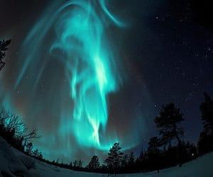 landscape, lights, and night image