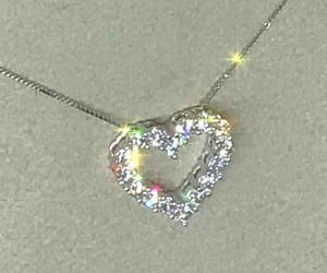 necklace, alternative, and heart image