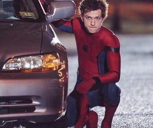 homem aranha, spider man, and tom holland image