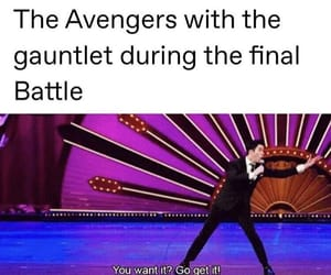 Avengers, funny, and meme image