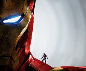ironman, iron man, and Marvel image