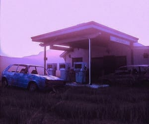 abandoned, aesthetic, and gasoline image