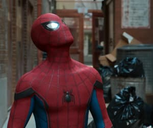 actors, tom holland, and spider-man image
