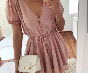 dress, outfits, and girls image