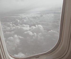 รูปภาพ clouds, aesthetic, and white