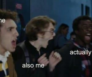 meme, reaction, and skam image