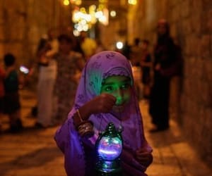 girl, muslim blog, and hijab image