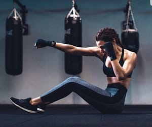 fitness, boxing, and workout image