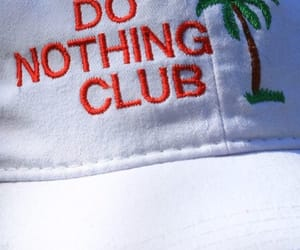 hat, club, and nothing image