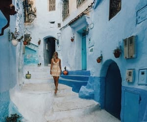 morocco, chefchaouen, and travel image