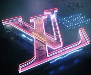 neon, aesthetic, and Louis Vuitton image