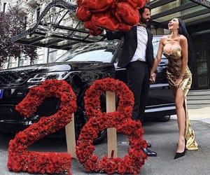 rose and car image