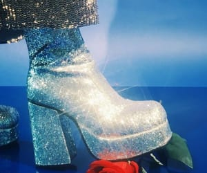 glitter, aesthetic, and boots image