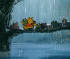 gif, rain, and ☔ image