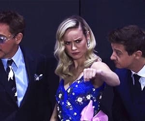 gif, jeremy renner, and robert downey jr image