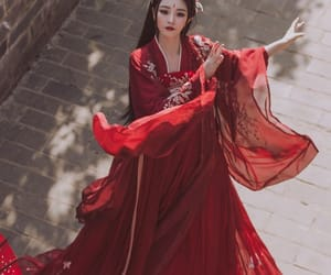 ancient, chinese, and fashion image