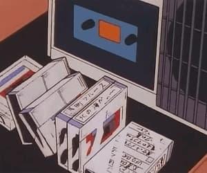 anime, 90s anime, and gif image