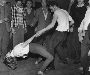 dance, couple, and vintage image