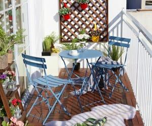 balcony, home design, and patio image