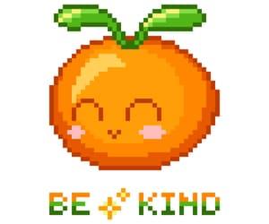 art, food, and orange image