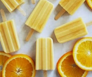 yellow, food, and ice cream image