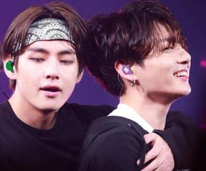 beautiful, yoongi, and vkook image