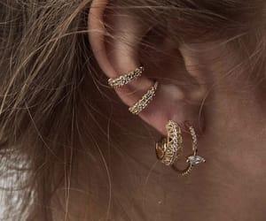 bijoux, jewelry, and bouclesdoreilles image