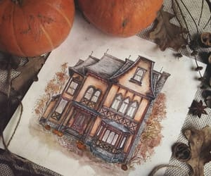 drawings and autumn image