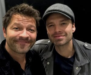 Marvel, castiel, and sebastian stan image